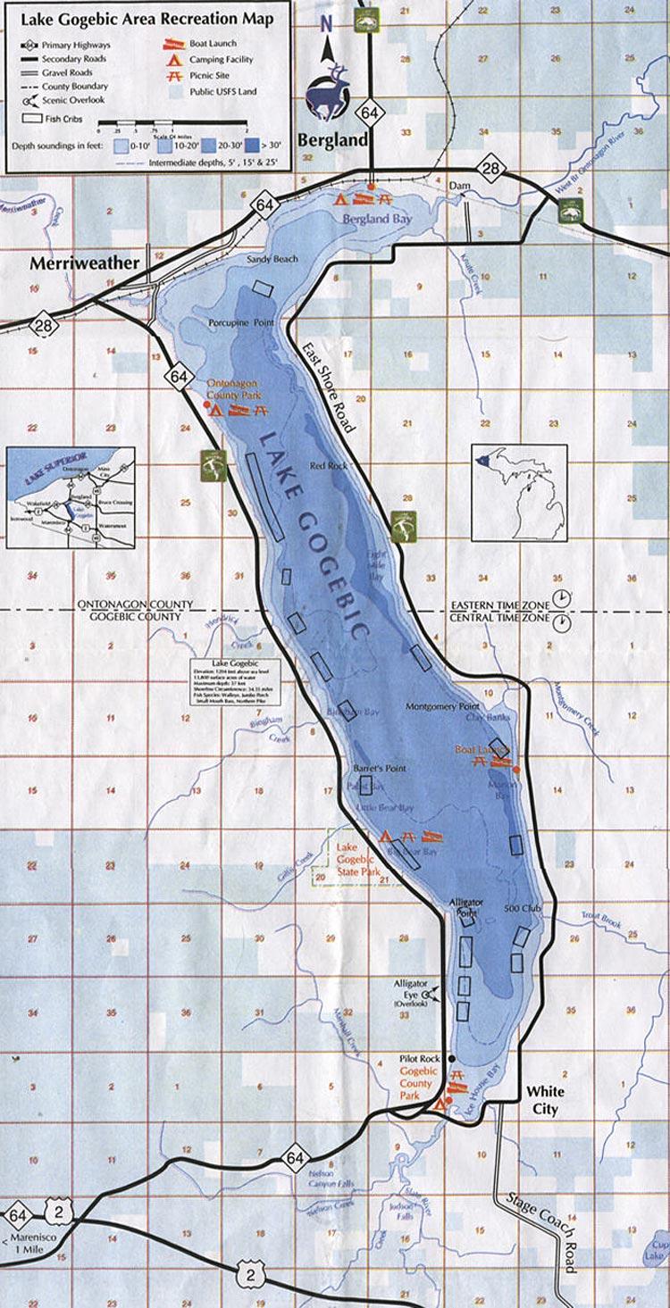 Lake Gogebic Area Information
