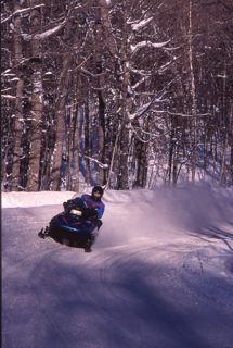 Lake Gogebic Snowmobiling