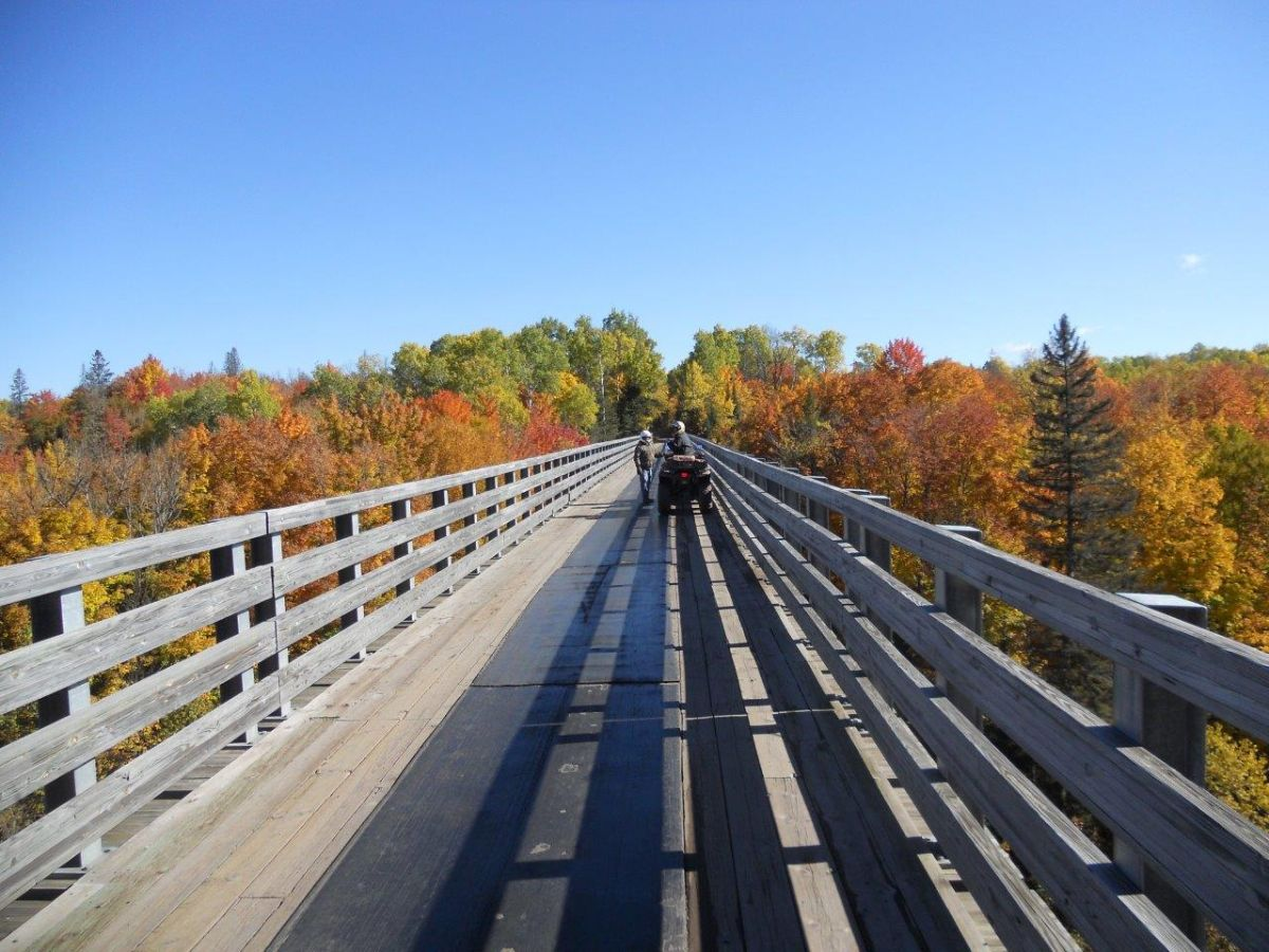 ORV Bridge Trestle