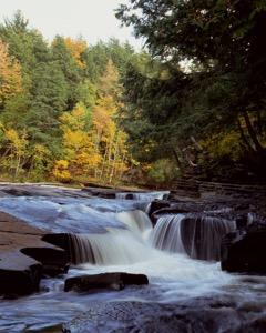 Presque Isle Waterfalls