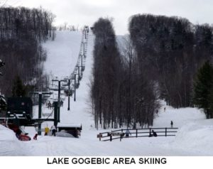 Lake Gogebic Area Skiing